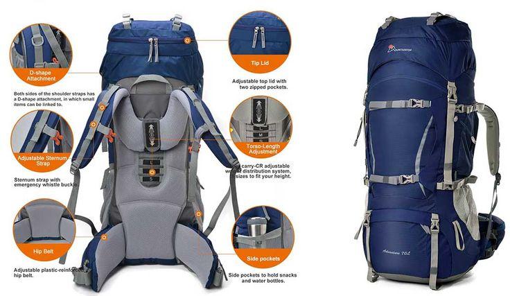 versatile outdoor backpack