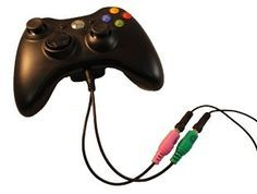 Headset Buddy: Xbox 360 PC Headset Adapter Cable (01-PC35-Xbox360) Headset Buddy: Xbox 360 PC Headset Adapter Cable (01-PC35-Xbox360) Why buy another headset for your Xbox 360 when you already have a PC gaming headset? With the Headset Buddy you can use your existing PC computer headset that has 3.5mm mic/audio plugs with your Xbox 360 controller that has a 2.5mm jack. Go get your game on! If you pair the Headset Buddy with a 2M/1F Y-splitter (sold seperately) connect the other e..