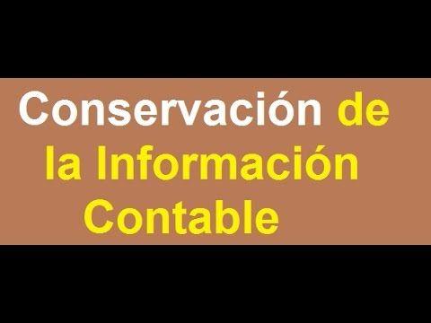 354. Conservación de la Información Contable