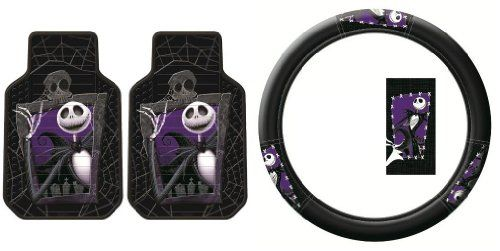Nightmare Before Christmas Car Accessories #walmart