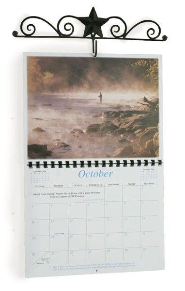 Decorative Wall Calendar Holder  Primitive Calendars