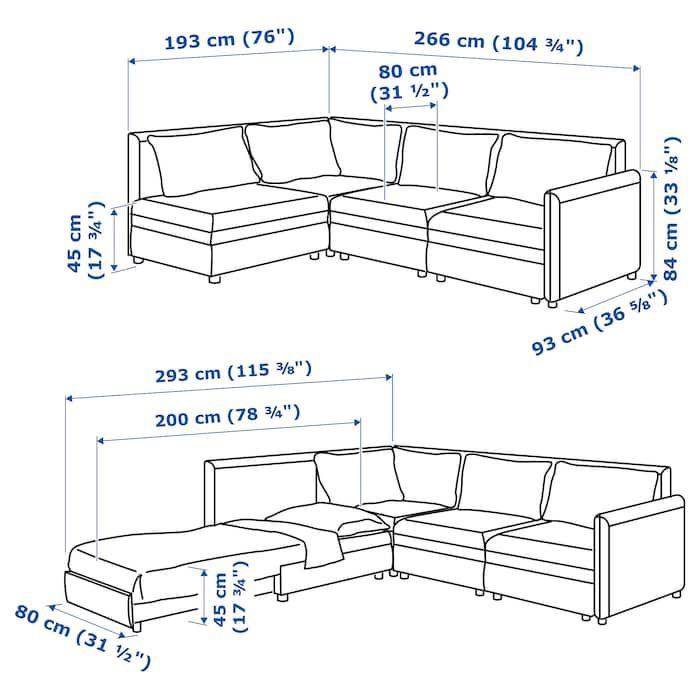 Vallentuna Mod Sectional 3 Seat W Slpr Sect And Storage Murum White Complete Your Home Today Ikea In 2020 Vallentuna Modular Corner Sofa Sofa Bed With Storage