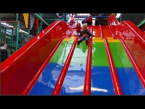 Indoor Playground Family Fun for Kids Play Center Slides Playroom | Batm...