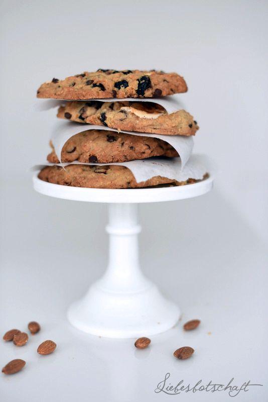 Liebesbotschaft: Santa Cruz-Cookies mit California Almonds.