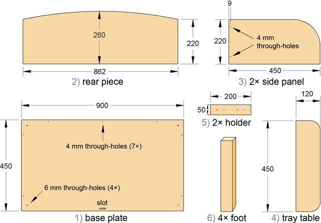 Bedside Crib Construction Manual