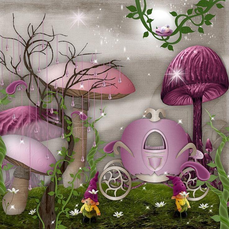 Яндекс.Фотки....Fairytale Backgrounds