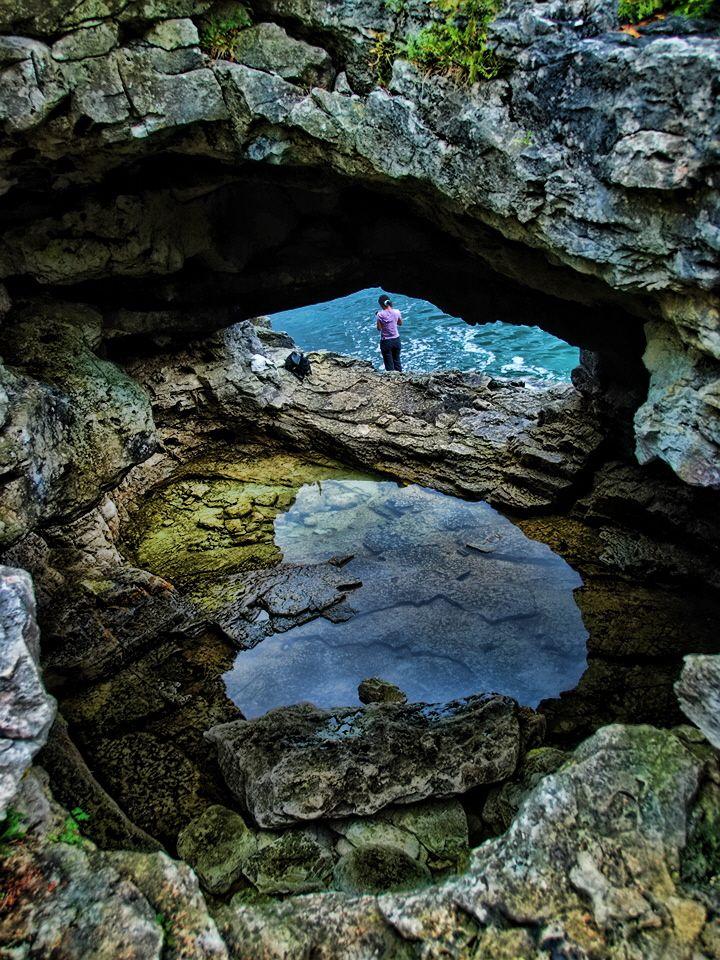 The Grotto, Tobermory, Ontario - gorgeous hiking, swimming, adventure