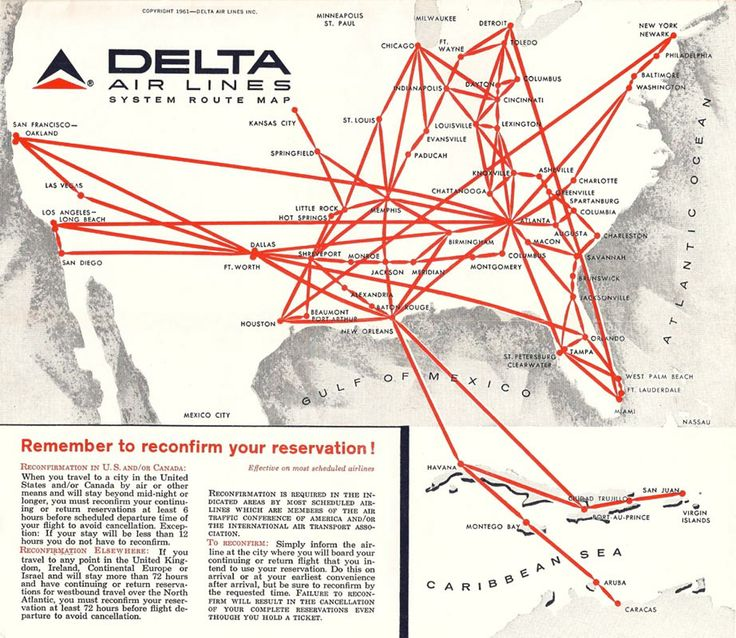 Best Maps Images On Pinterest Maps Commercial And Dallas - Delta route maps