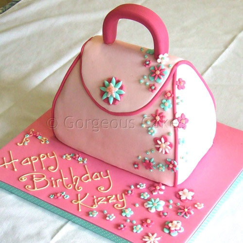 Handbags Cake Design : 37 best images about Bag/Luggage Cakes on Pinterest Shoe ...