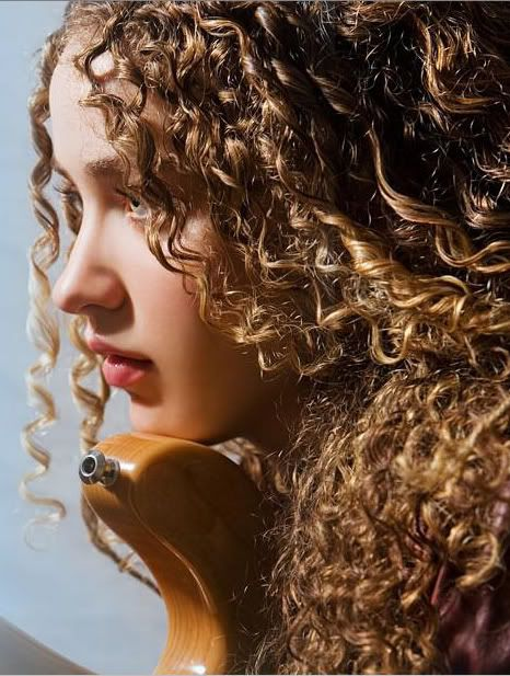 Tal Wilkenfeld, Bassist extraordinaire (and curly girl) - She possesses skills that others can only hope for.