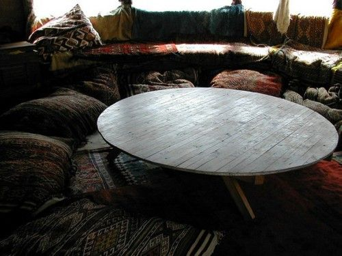 low round table