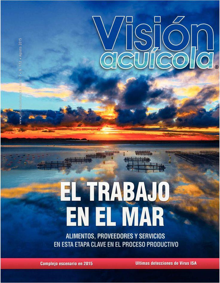 Portada Visión Acuicola, Agosto 2015 By Melany Sanz