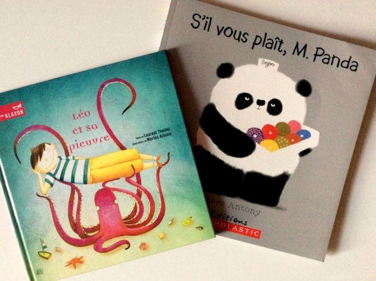 Double critiques : «S'il vous plaît, M. Panda» et «Léo et sa pieuvre»!