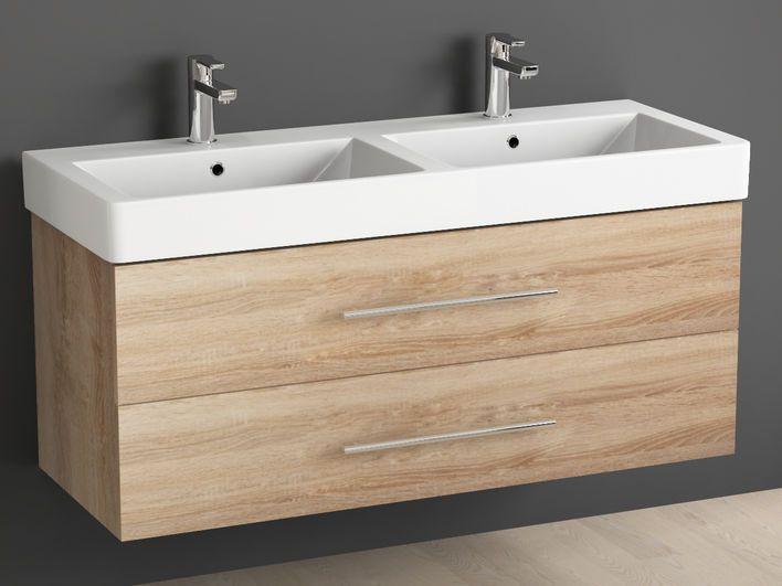 Die besten 25+ Bad Doppelwaschtisch Ideen auf Pinterest Doppel - badezimmer waschtisch mit unterschrank
