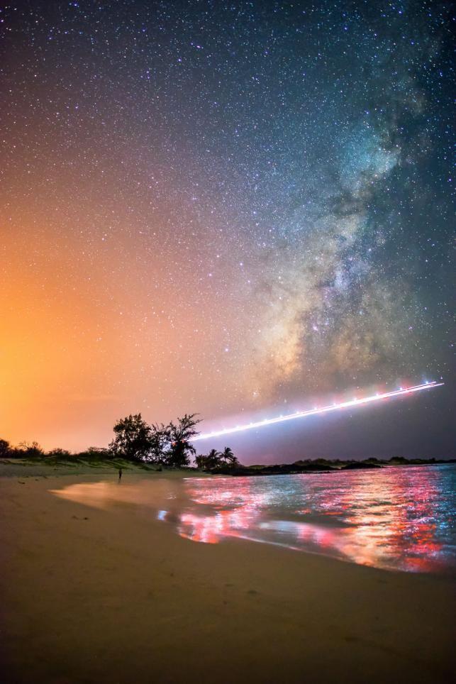 Hawaii-ról a csillagok | Fotó kredit: facebook.com/uldericoimages