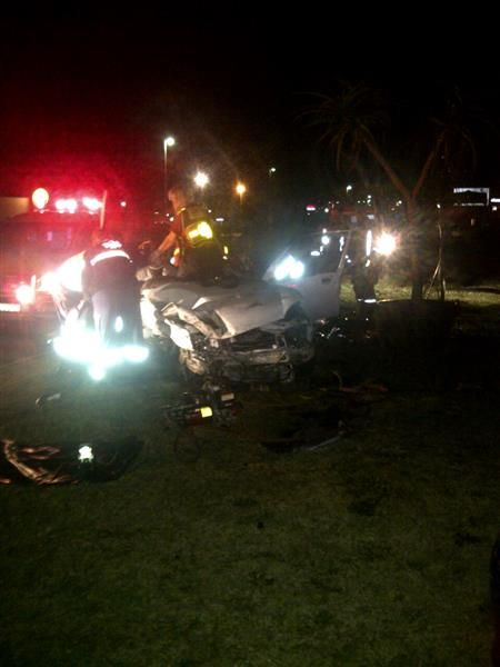Woman died and man critically injured - Shelly Beach  IMG_0682