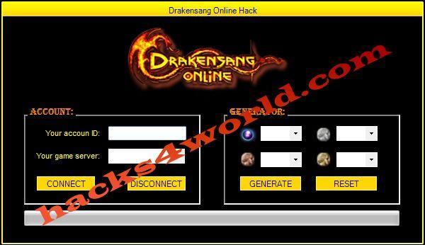 Drakensang Online Hack working download only from: http://hacks4world.com/drakensang-online-hack/  Functions Hack: Andermant generator Copper generator Silver generator Gold generator  Drakensang Online Hack working download only from: http://hacks4world.com/drakensang-online-hack/