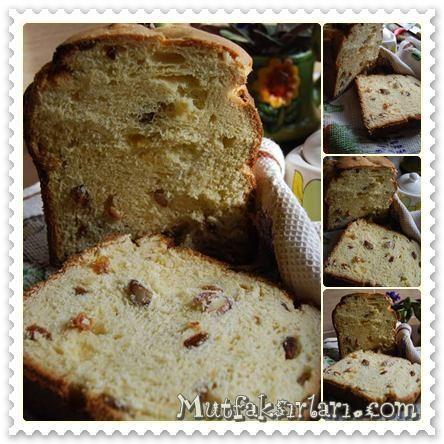 Kugelhopf - Bademli Üzümlü Tatlı Ekmek