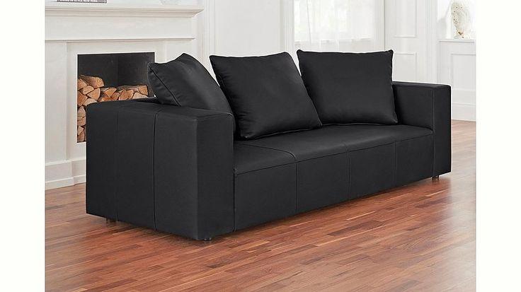 Ledersofa schwarz 2 sitzer  Die besten 25+ 2 sitzer sofa Ideen auf Pinterest | 2-Sitzer-Sofa ...