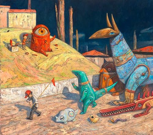 #Shaun Tan, one heck of a great #illustrator and #writer