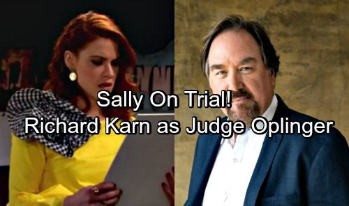 The Bold and the Beautiful (B&B) spoilers tease that more trouble is headed for Sally (Courtney Hope). Her decision to steal from the Forresters...