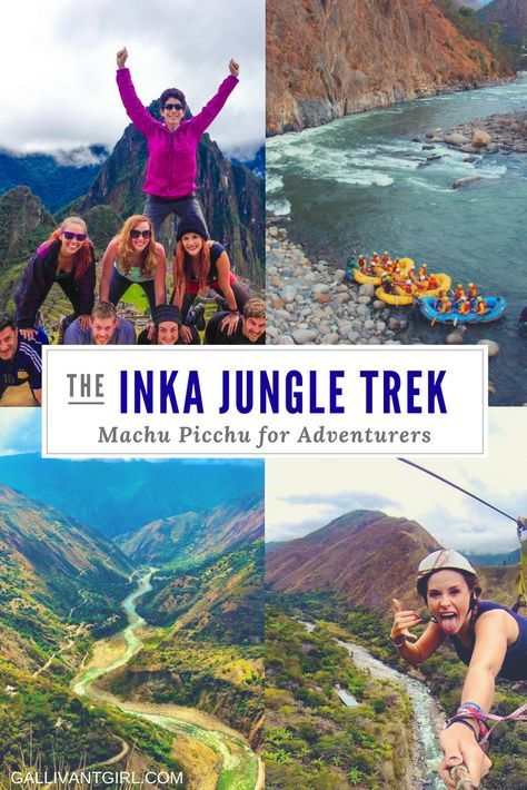 Heading to Machu Picchu and can't decide what trail to take? Consider the Inka Jungle Trek - the perfect trek for adventurers.