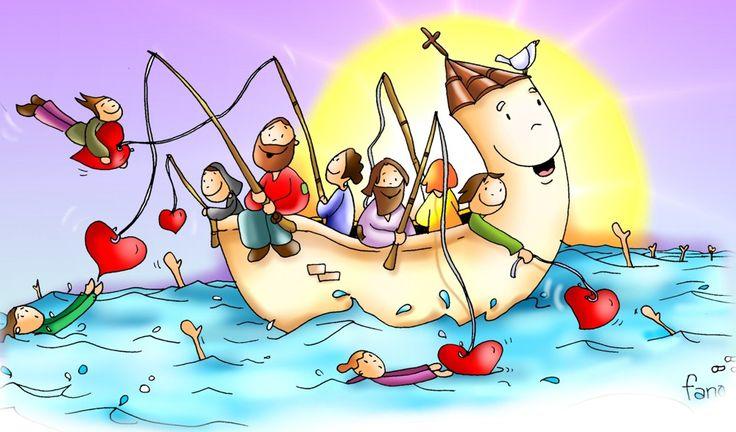 Seréis pescadores de hombres.