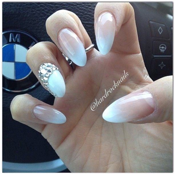 For my wedding day nails
