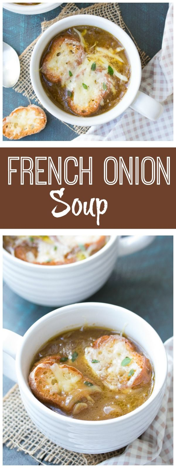 Traditional French Onion Soup Recipe — Dishmaps