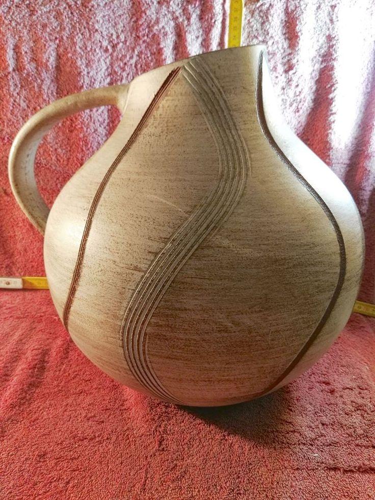 VASE, 34cm h. afrikanisches Design 50er-JAHRE - Rockabilly-fifties-Vintage-Style  | eBay
