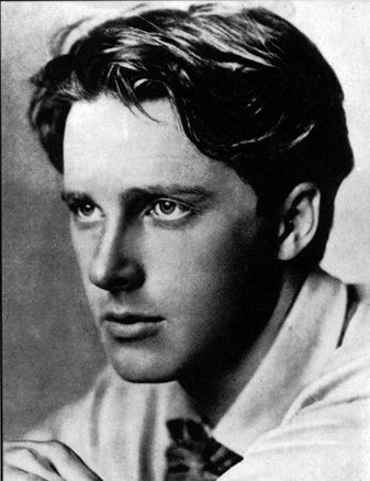 Rupert Brooke  WW1 poet. Born Rugby. Joined the navy and sailed to the Med. but died on his way to Gallipoli from an infected mosquito bite, on aFrench hospital ship moored in the Aegean Sea. Buriedin an olive grove on Skyros.