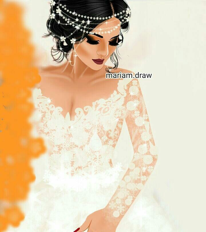 Pin By Soso Iraq On Boda Digital Art Girl Beautiful Girl Drawing Girly Pictures