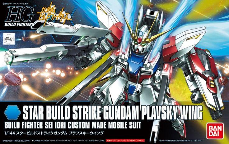 Bandai Hobby HGBF Star Build Strike Gundam Plavsky Wing Model Kit (1/144 Scale)