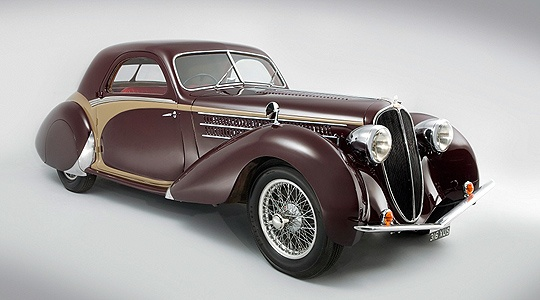 Best of French Coachwork: 1938 Delahaye 135M 2 Seat Coupé