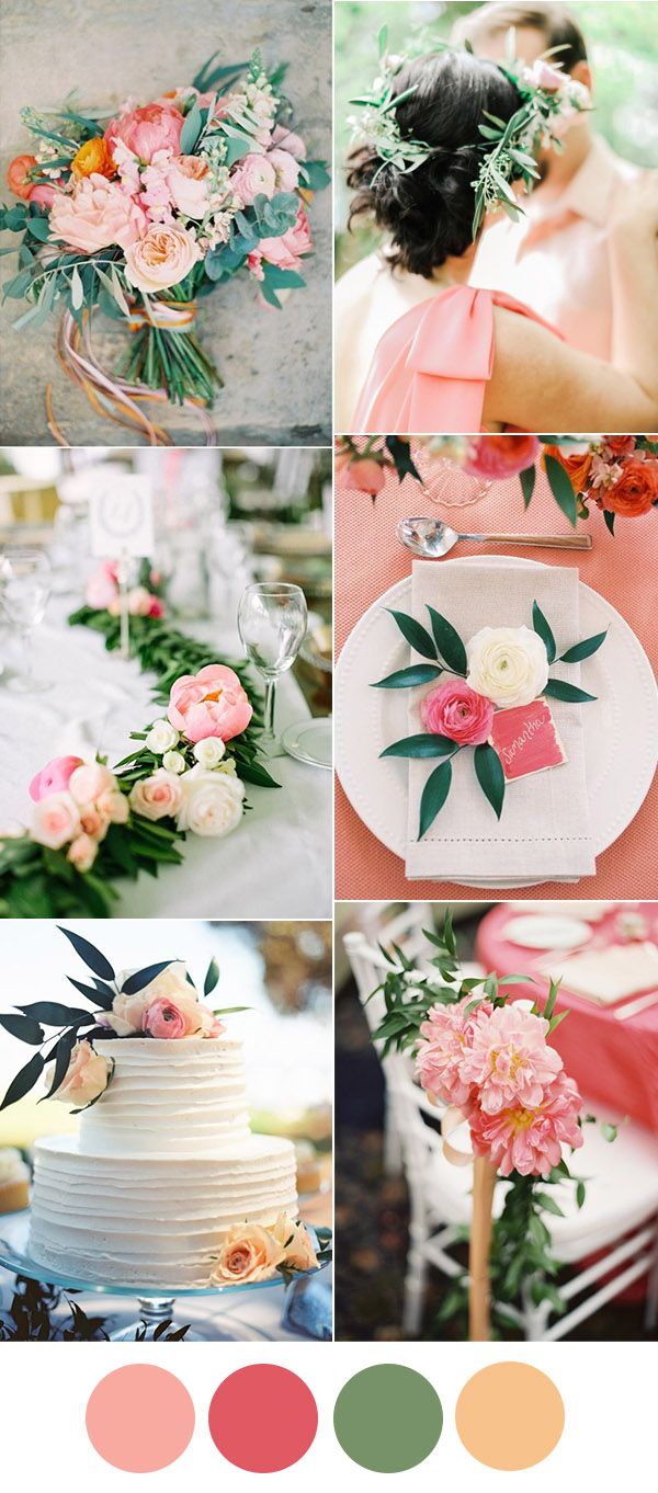 346 best Wedding color combinations images on Pinterest Color
