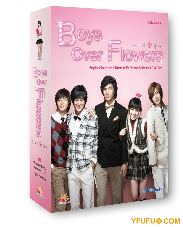 Boys Over Flowers Park Sun Ja: Boys Over Flowers Vol. 1 Korean Drama DVD Boxset Starring