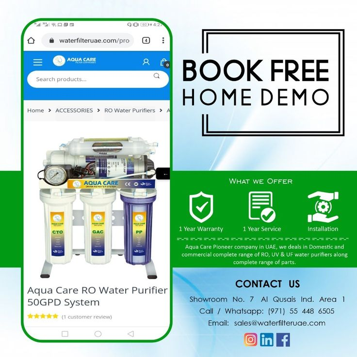 Save more with AQUA CARE Book Home Free Demo. for more