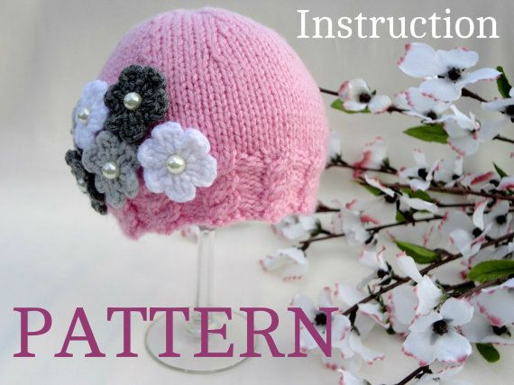 Knitting Patterns For Youth Hats : Best 25+ Knit baby hats ideas on Pinterest Knitted baby hats, Baby hat knit...
