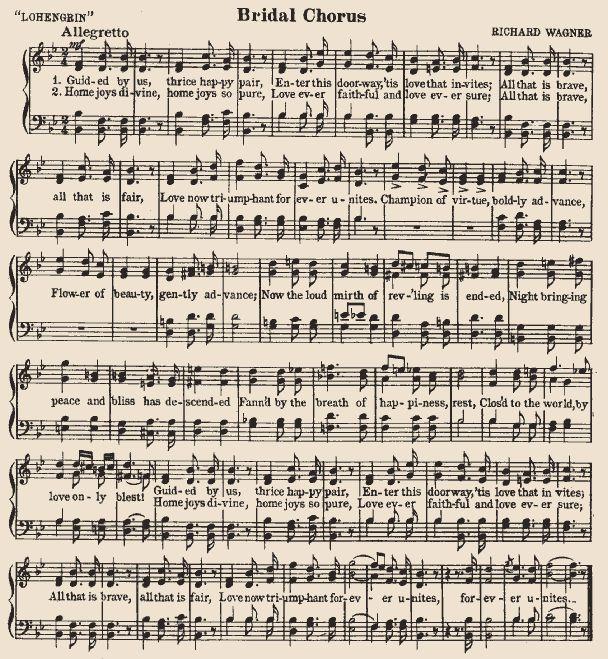 Bridal Chorus - Wagner