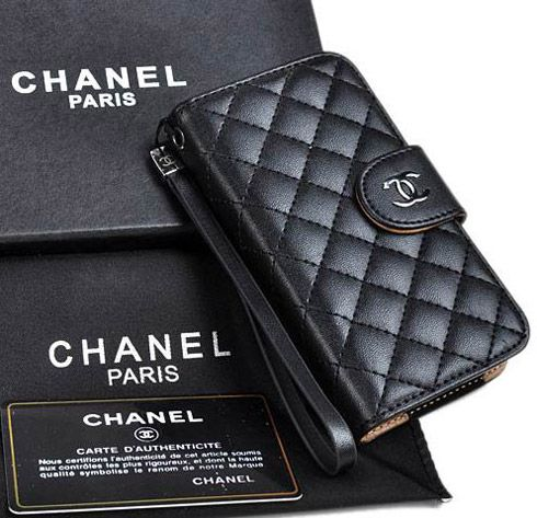 detailed look 27dba 63ab5 Classic chanel iphone x 8 7 6s plus cases napa wallet black | iphone ...