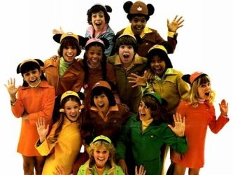 Mickey Mouse Club show, I loved this show and would pretend I was the blonde girl in the front.
