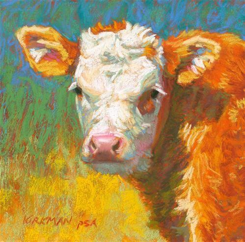 17 beste afbeeldingen over koeien geschilderd painted for Original fine art for sale
