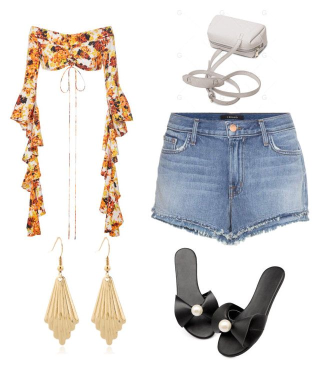 """Untitled #104"" by denisapurple on Polyvore featuring E L L E R Y and J Brand"