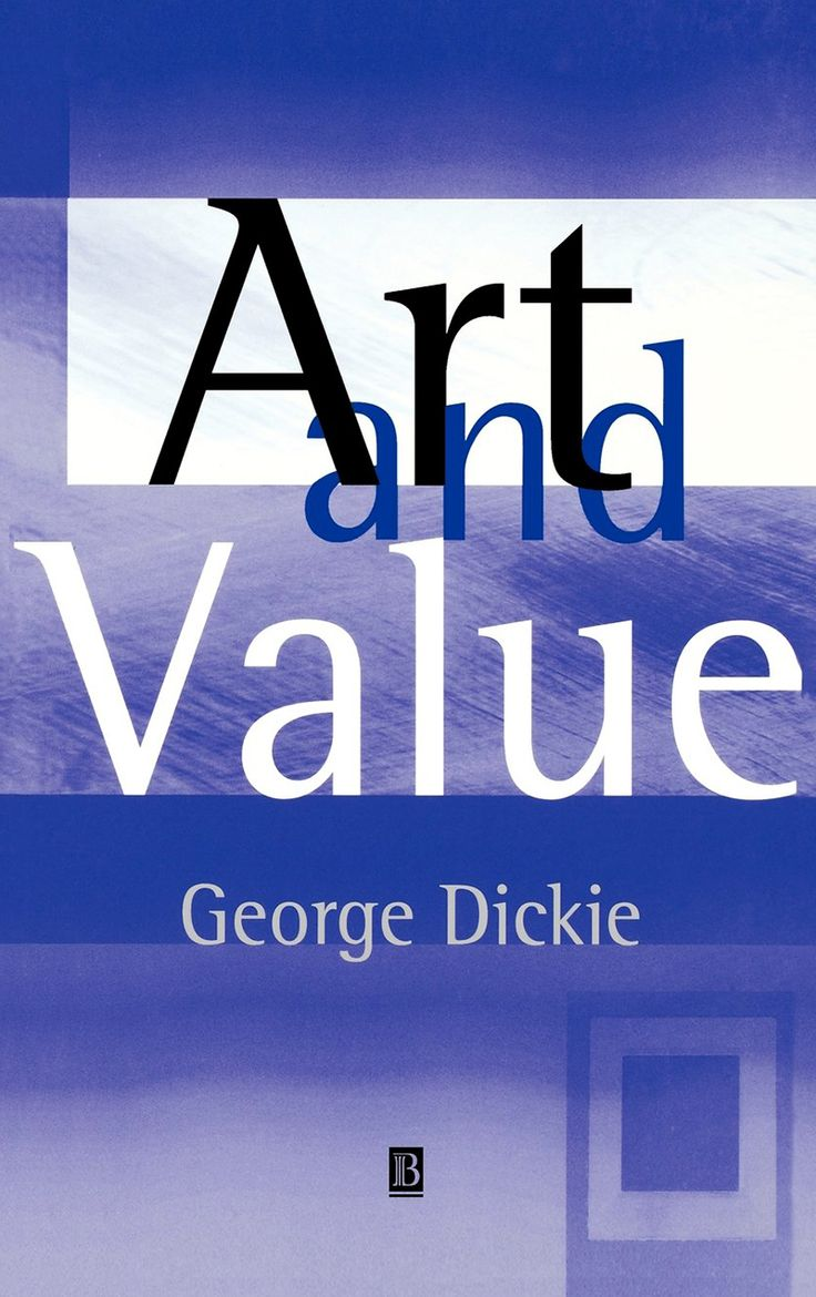 """""""ART AND VALUE"""". GEORGE DICKIE. 2001."""