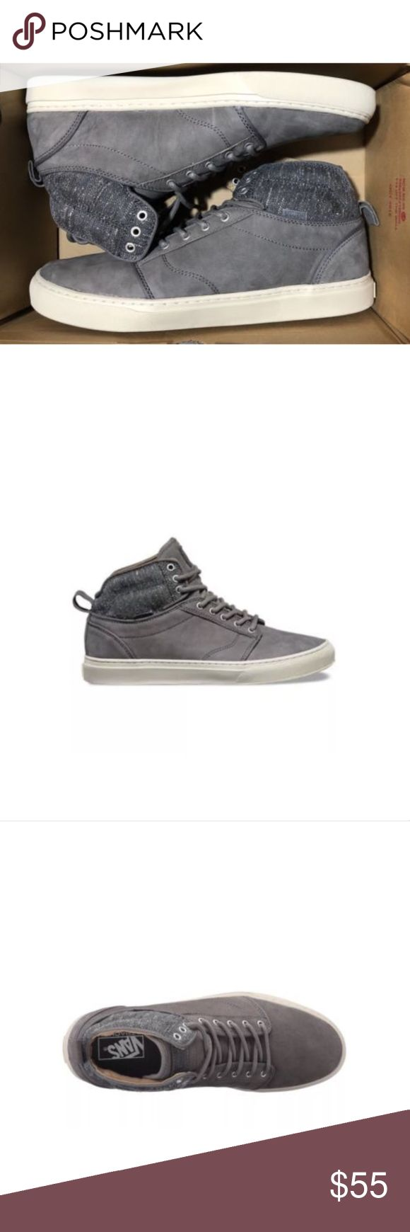 Vans Alomar Tweed Gray White Skate Shoe Mid Top Vans Alomar Tweed Gray White Skate Shoe Mid Top  Size Men 13 Brand new in box Vans Shoes Athletic Shoes