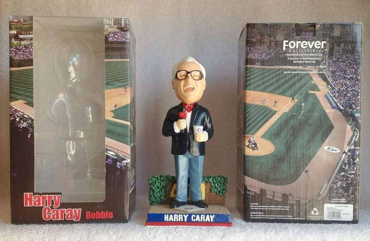 Harry+Caray+Chicago+Cubs+ALL-TIME+Favorite+Wrigley+Field+Ivy+Bobble+Bobblehead+#ChicagoCubs