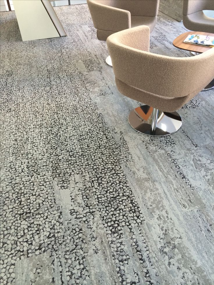 Carpet tile planks, Human Nature by Interface, available at #CreedMiles