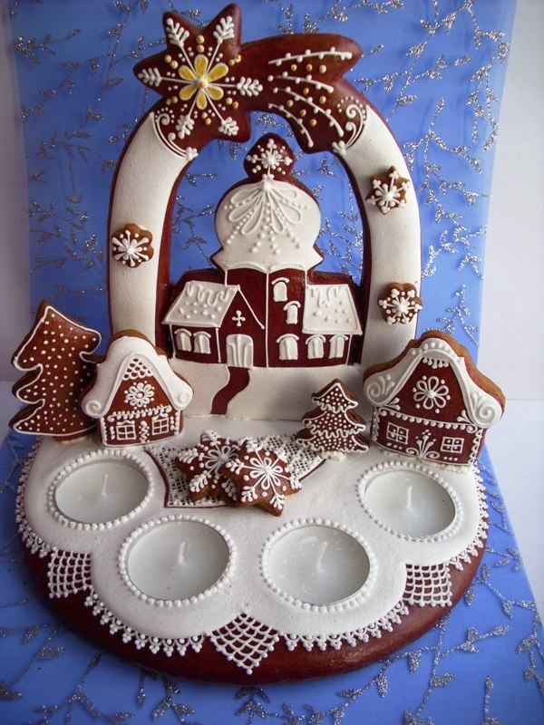 Czech decorated cookies.