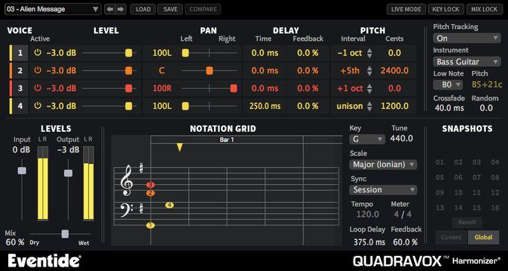 Quadravox, Quadravox plugin, buy Quadravox, download Quadravox trial, Eventide Quadravox
