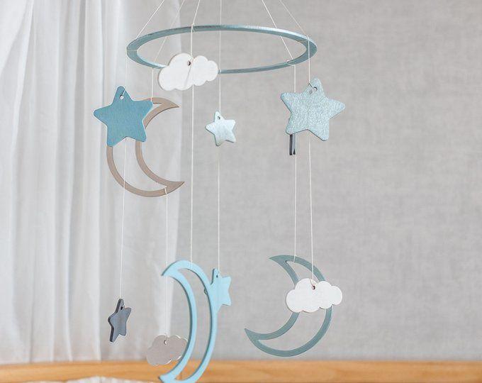 Baby mobiel Wieg mobiel Kinderkamer mobiel-Kinderkamer door CuteBabyMobile
